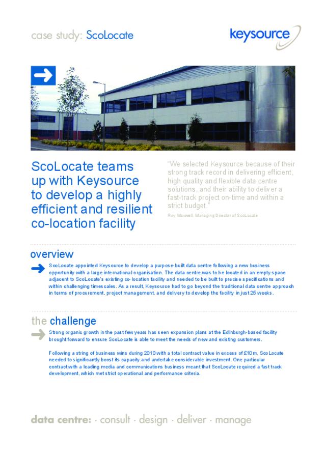 ScoLocate-Case-Study pdf : DCA Global (Data Centre Alliance)