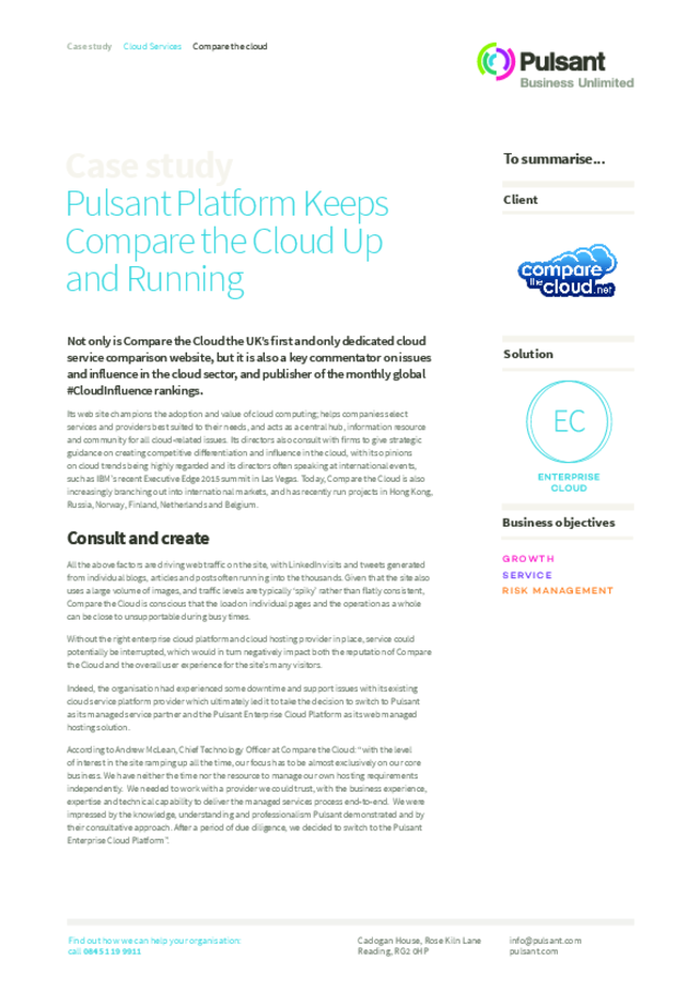 Compare-the-Cloud-Case-Study Pulsant pdf : DCA Global (Data