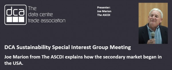 VIDEO - Joe Marion from The ASCDI explains how the secondary market began in the USA.