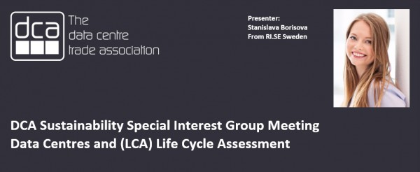 VIDEO - Stanislave Borisova - Data Centres and (LCA) Life Cycle Assessment